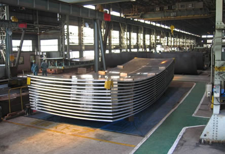 Spherical Shell Tank for LNG Vessel (Aluminum) Photo